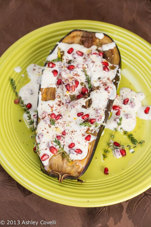 Eggplant with Buttermilk Sauce | ! A Permanent Health Kick ! - Health ...