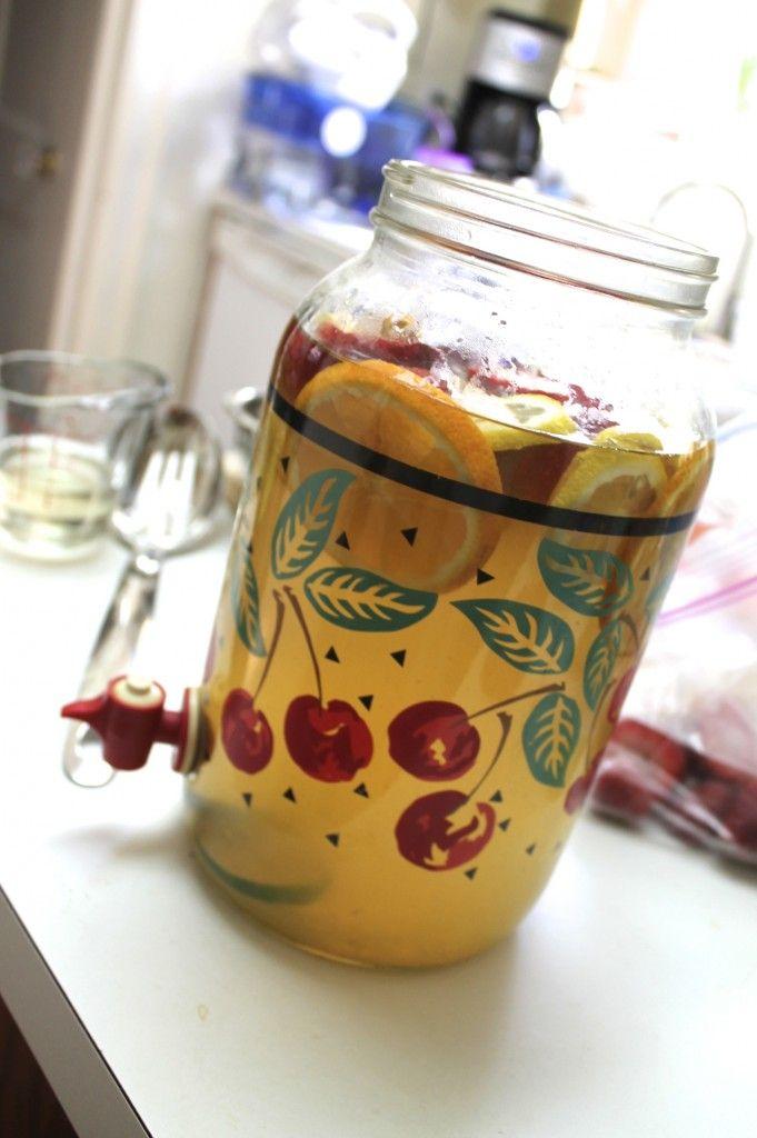 STRAWBERRY CITRUS ICED GREEN TEA | Drinks! | Pinterest