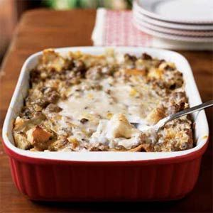 Breakfast Sausage Casserole from Cooking Light