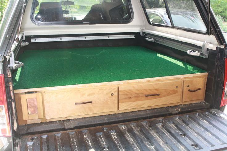Truck Bed Vault Plans PDF Woodworking