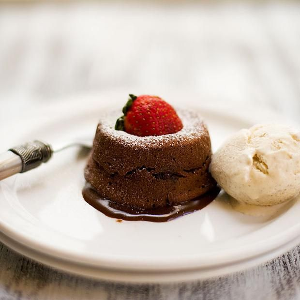 Molten Chocolate Liquor Cake | All Things Chocolate~ | Pinterest