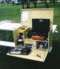 Kitchen In A Box : Pauls Camp Kitchen ==-kitchen box!  Camping, & Vintage Travel T ...
