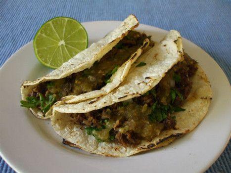 Tacos de cabeza (beef head tacos) recipe