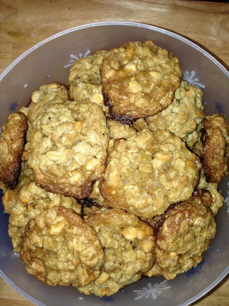 Butterscotch oatmeal cookies | Recipes | Pinterest
