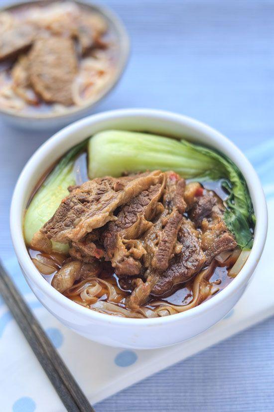 Authentic Beef Noodle Soup Recipe | Dinner - Soups | Pinterest