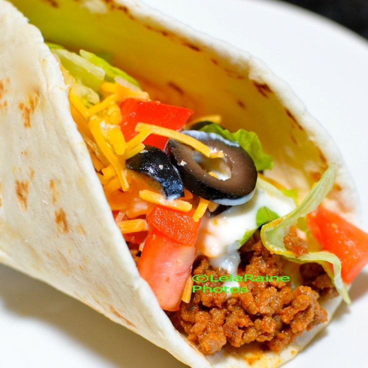... this wonderful Homemade Restaurant Style Taco Meat Seasoning to Tacos