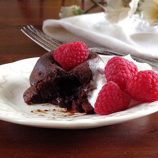 Warm Molten Chocolate Cakes | Cakes | Pinterest