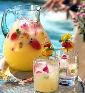 Recipe For Summer Pineapple Strawberry Cooler