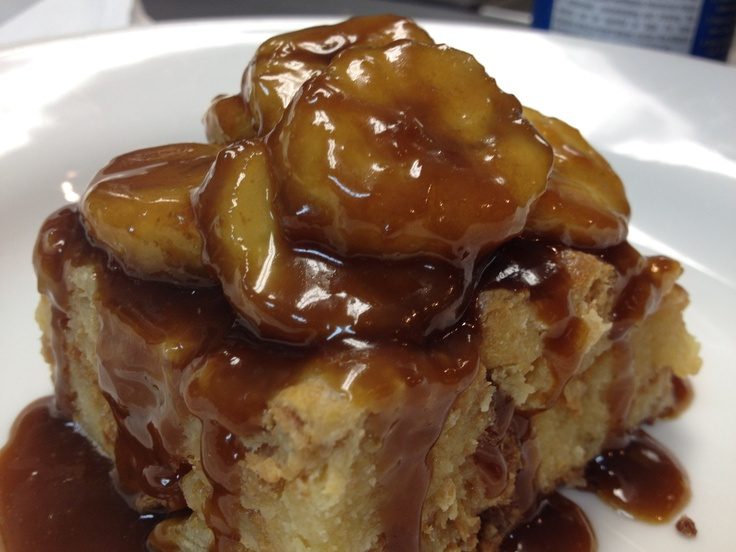 Bananas Foster Bread Pudding | Bread Puddings | Pinterest