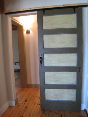 Easy Sliding Barn Door Track Door For The Home Pinterest