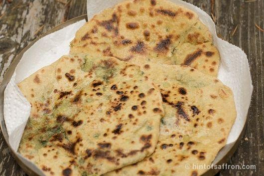 Aloo Paratha - Potato Stuffed Flat Bread | Indian food | Pinterest