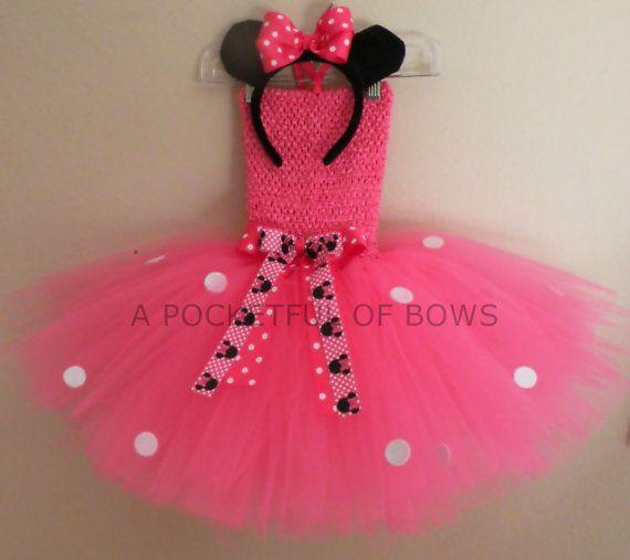 minnie mouse tutu dress birthday party tutu dress first