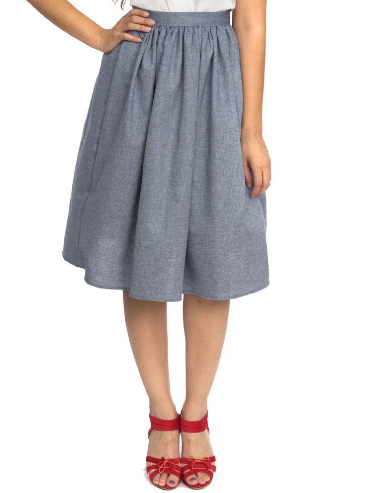 mid length skirt crafts