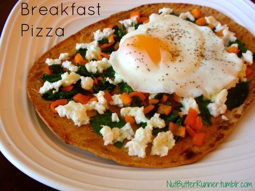 Breakfast Burrito Pizza Recipe — Dishmaps