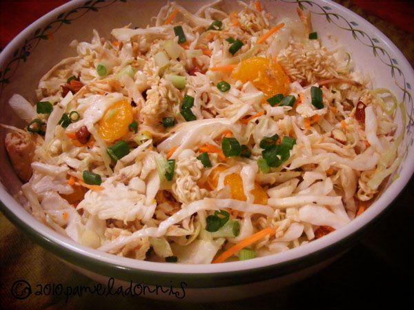 Oriental Chicken Salad | salads | Pinterest