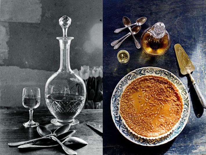 ricotta tart lemon brulee tart lemon tart with raspberries pine nut ...