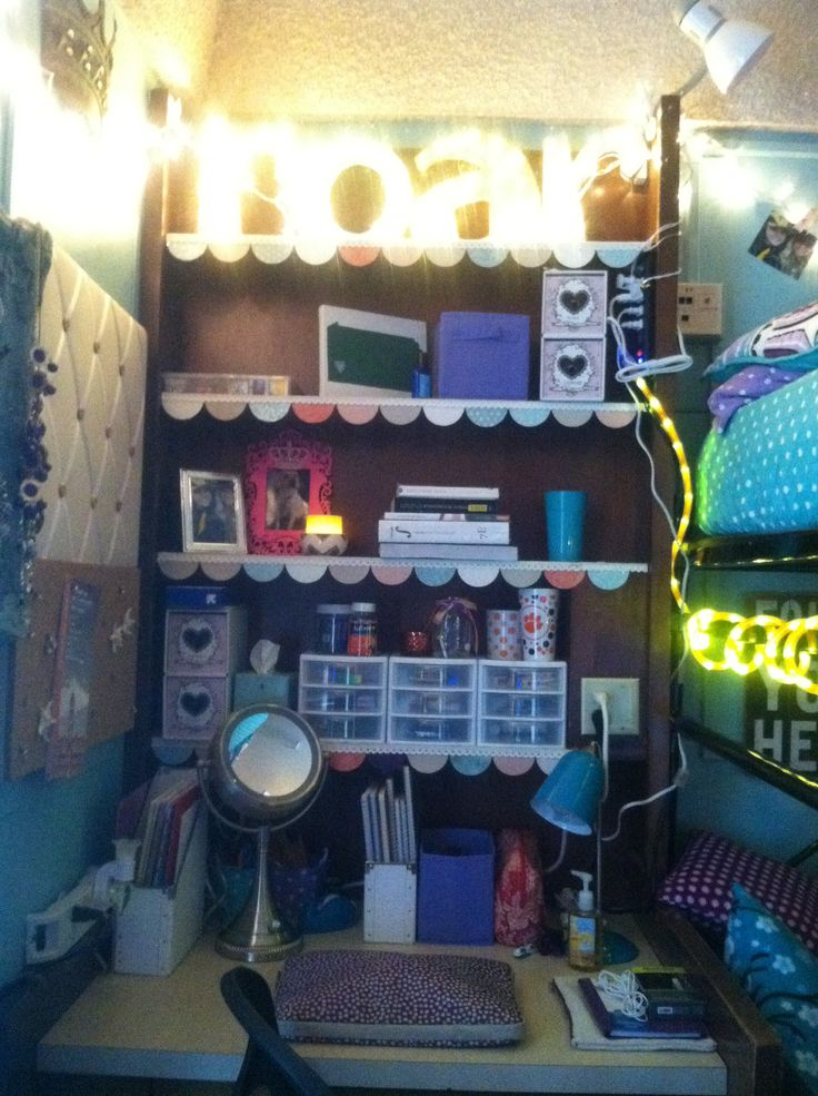 Clemson dorm desk  Dorm ideas  Pinterest ~ 103902_Clemson Dorm Room Ideas