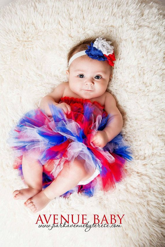 4th of july tutu for baby