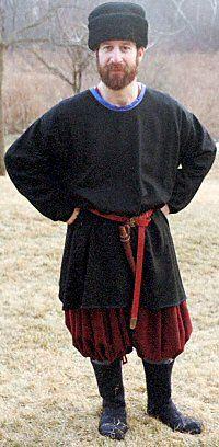 Historically-correct clothing for a Viking man  Black clothing was a    Ancient Vikings Clothing