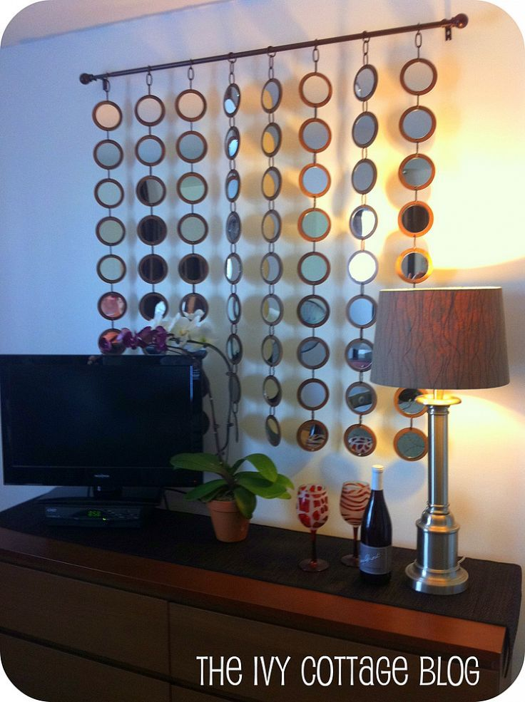 Diy z gallerie mirror knock off for How to make a mirror wall
