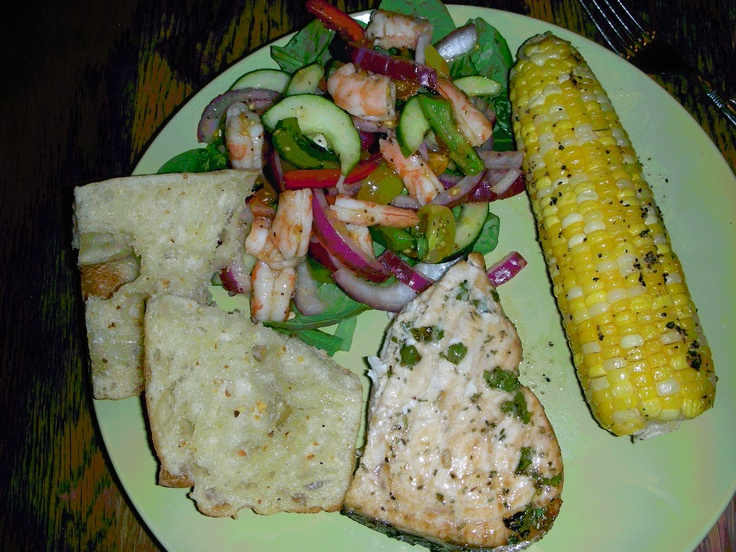 grilled gazpacho salad grilled jumbo shrimp and gazpacho shrimp salad ...