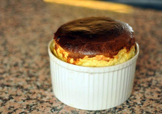 Paule Caillat's 3-Cheese Soufflé | Recipe