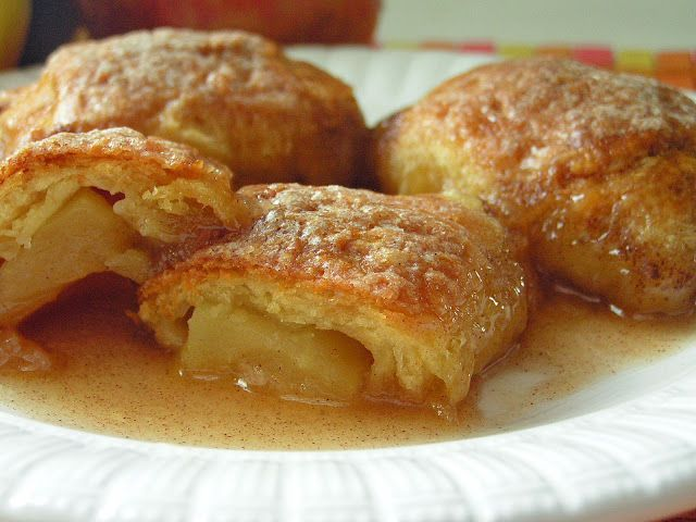 Country Apple Dumplings 1 Large Apple {i Used A Fuji- Any Apple Will ...