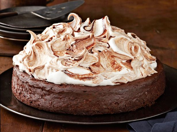 ... this Valentine's Day with a Towering Flourless Chocolate Cake