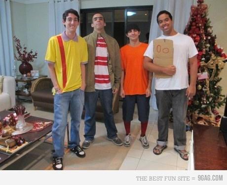 Ed, Edd, and Eddie Halloween... yes.