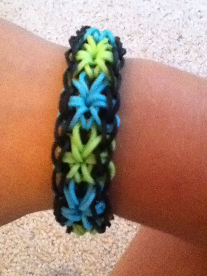 starburst rubber band bracelet rubber band bracelets