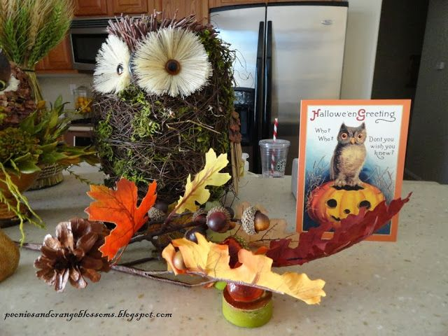 Peonies and Orange Blossoms: Halloween is a Hoot!