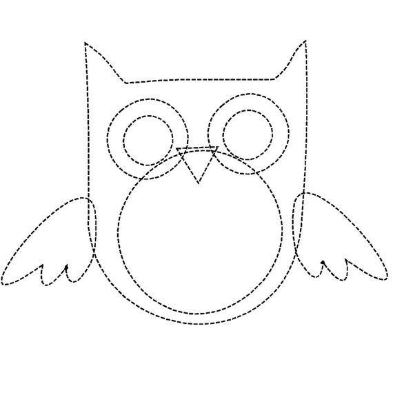 owl applique pattern for quilt