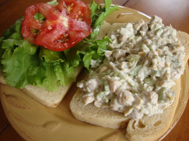 Mock Tuna Salad | yummers | Pinterest
