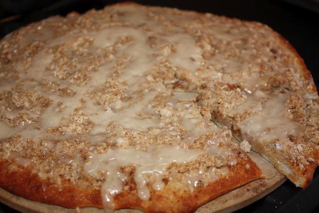 Sweet Cinnamon Pizza Recipe — Dishmaps
