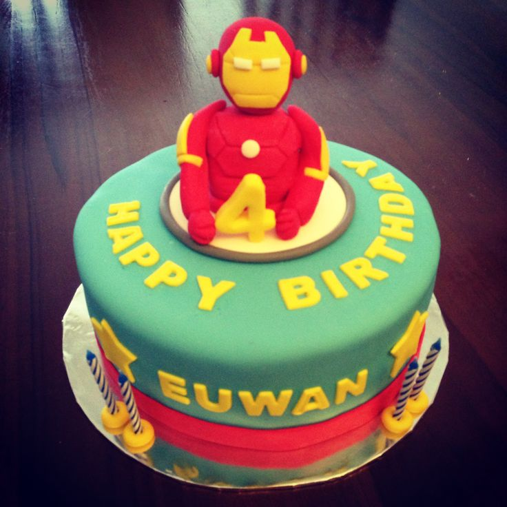 Easy Iron Man Cake Ideas 88251 Iron Man Cake Birthday Cake