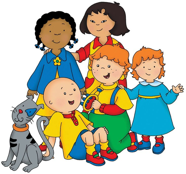 my Caillou. I'm pretty sure this show taught me how to tie my shoes