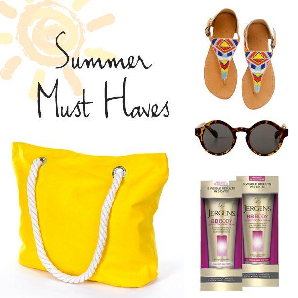 Summer must haves luminousskin healthy skin pinterest