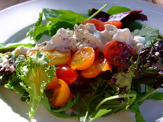 Low Fat Blue Cheese Dressing | Salads | Pinterest