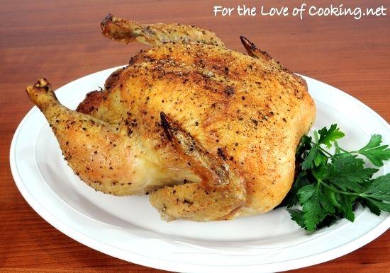 Garlic Roasted Chicken | Food & Recipes | Pinterest