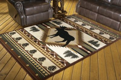 Cabela 39 S Cabin 2 39 7 X 7 39 4 Area Rug For The Home Pinterest