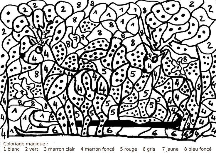 Maternelle coloriage magique gs les nombres pinterest - Addition grande section ...