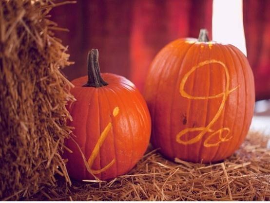 October wedding? Fall wedding?