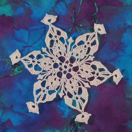 Free Crochet Snowflake Doily Pattern : snowflake - crochet free pattern Crochet Snowflakes ...