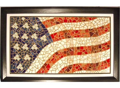 mosaic flag <3 <3