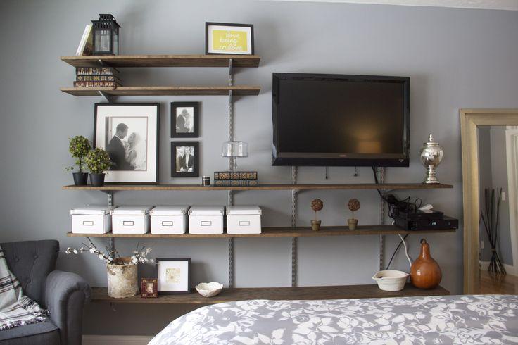Bedroom Tv Wall Design Ideas : Master bedroom tv wall house home
