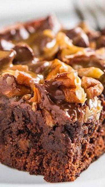 supreme brownies pecan fudge brownies caramel pecan brownies caramel ...