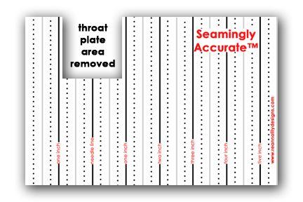 sewing machine seam allowance guide