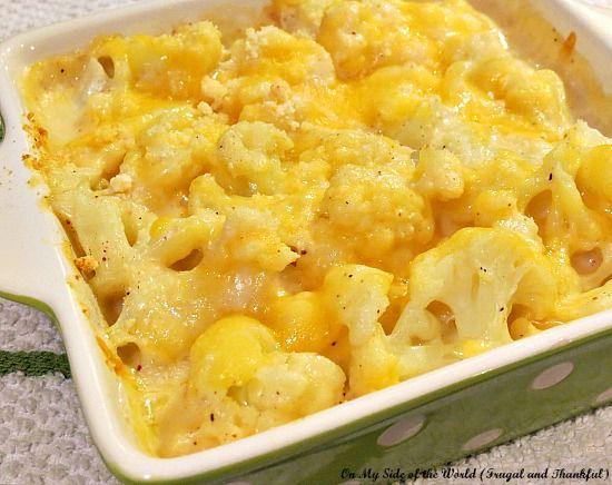 Easy cauliflower in cheesy sauce | Favorite Recipes | Pinterest