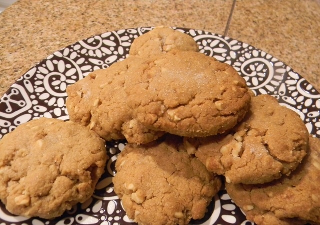 Honey Roasted Peanut Thumbprint Cookies Recipe — Dishmaps