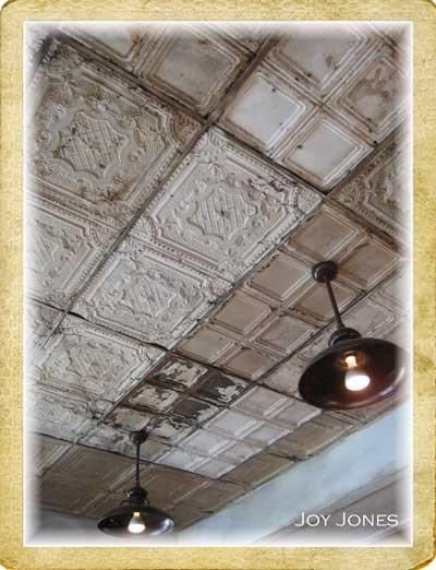 Tin man ceiling tiles